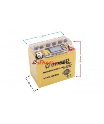 baterie 12w5ah