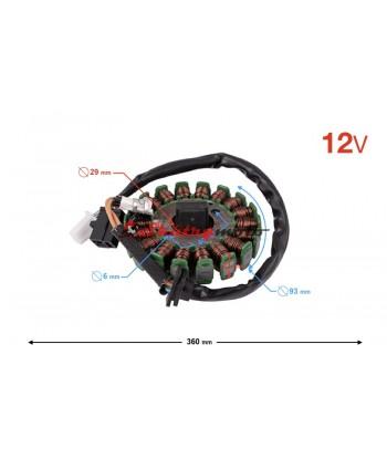 Stator 18 cívek (vstřikování)